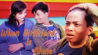 When GirlFriend Is Alone At Home|Rohit & Anzali|RisingstarNepal