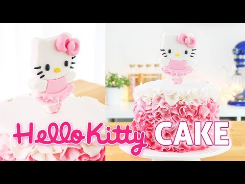 Hello Kitty Ballerina Cake    Tan Dulce