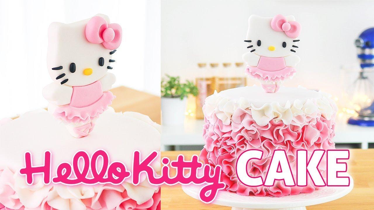 20adb72ce Hello Kitty Ballerina Cake    Tan Dulce - YouTube