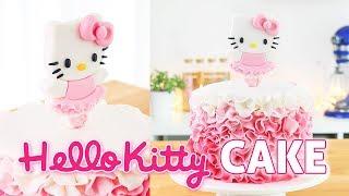 Hello Kitty Ballerina Cake || Tan Dulce