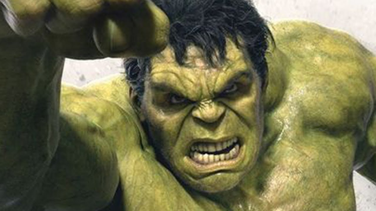 It is a graphic of Adorable Picture of the Hulk