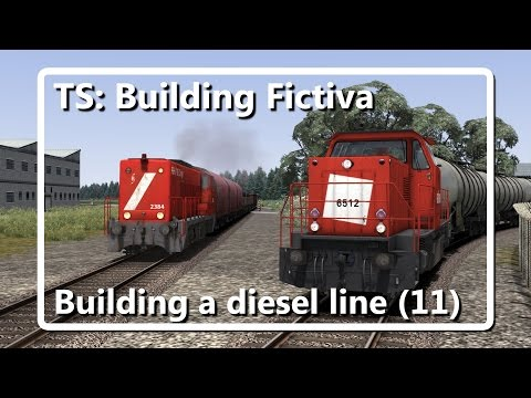 Train Simulator 2016: Fictiva continues: Building a diesel-l