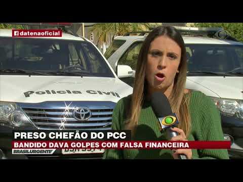 Chefão do PCC e golpista é preso em São Paulo