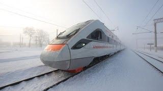 """Скоростной поезд КВСЗ """"Тарпан"""" (Украина). Super train (Ukraine). KVSZ """"Tarpan"""""""
