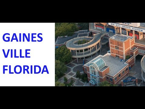Gainesville Florida Area Maps