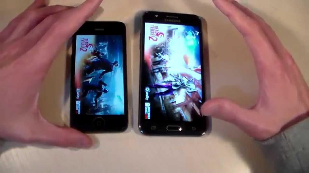 Iphone 6 vs samsung galaxy j5 2019