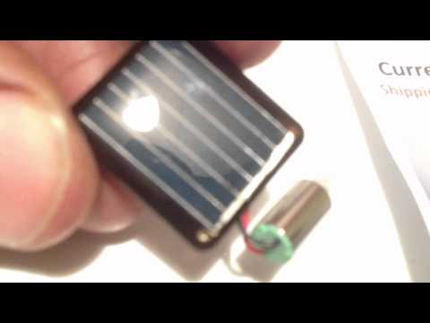 WORLD's SMALLEST SOLAR POWER MOTORS $8
