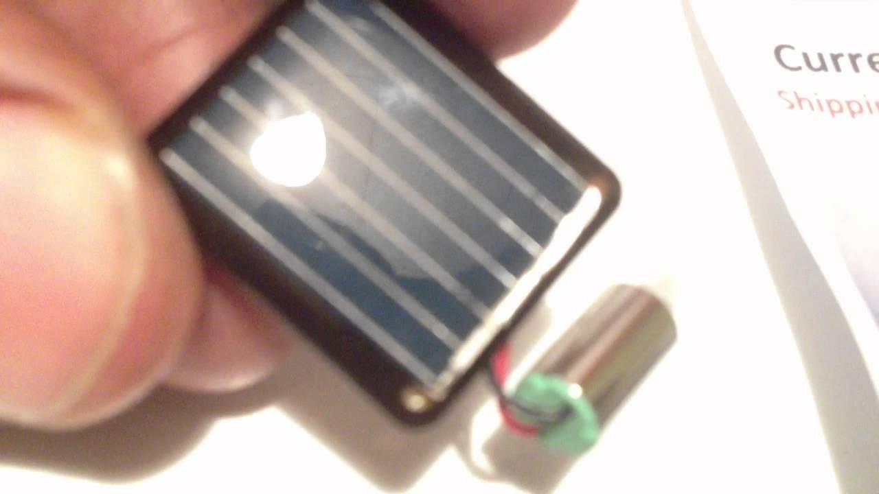 World S Smallest Solar Power Motors 8 Youtube