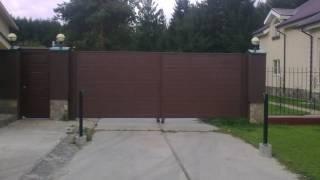 Изготовление и установка въездных ворот и калитки фирмы Hoermann в кп. Палникс(, 2017-01-21T04:27:16.000Z)