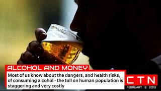 Alcohol and Money - dangers, health risks - big alcohol in cahoots with government health agencies