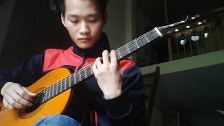 Khúc hát mừng sinh nhật guitar solo