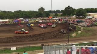 Figure 8 Racing in Hampton @ 2pm 8/19/18 Pro Stock Feature Pt 1