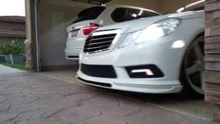 w212 w meisterschaft exhaust sound clip