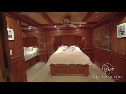 "1982 AC McLeod 79' Custom Stern Wheeler House Barge ""Elena Queen of Arts"""