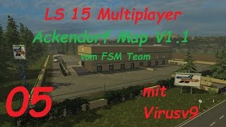 LS 15 Multiplayer Ackendorf #5 Gartencenter und Mastanlagen [german/deutsch]
