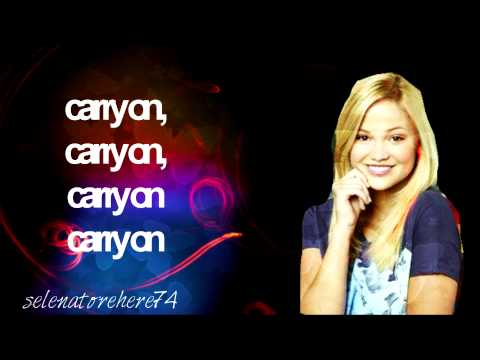 Olivia Holt Carry On Full Lyrics
