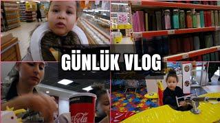 Anne Kız Bir Günümüz market Turu  Oyun Parkı  Vlog