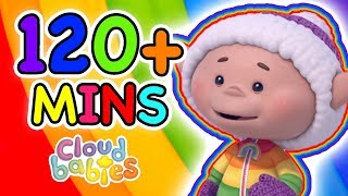 Cloudbabies - Happy Rainbow | 2 Hours of Full Episodes!