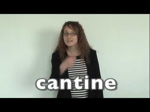 Bien connu Apprendre la langue des signes LSF : cantine, faim, soif, manger  JT03