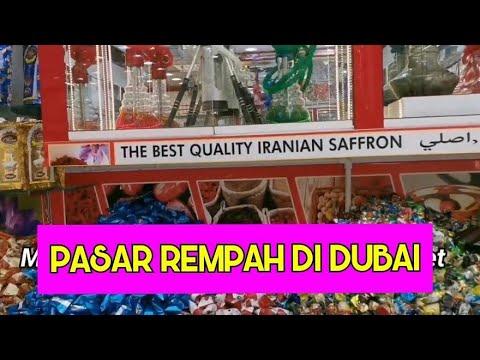 Dubai Spice Market Souk | Grand Souk Deira | Toko Safron dan Sejenisnya | Travelling Tour Dubai 2021
