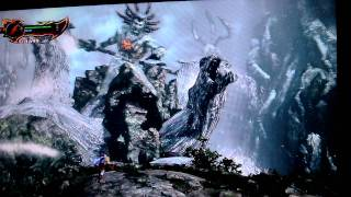 God of War 3 Kratos vs Poseidon (CHAOS MODE!!)