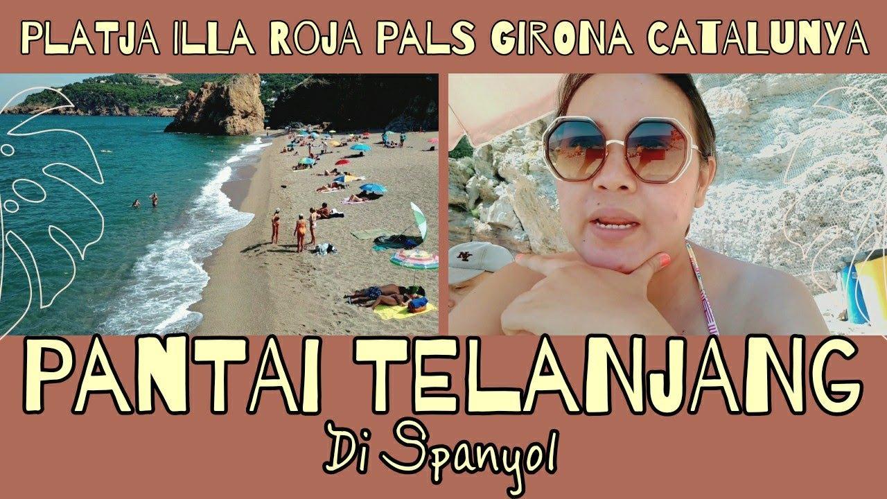 Download Pantai Telanjang di Spanyol | Platja Illa Roja Begur Girona Catalunya | Wisata Spanyol