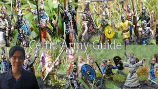 172 Scale Celts, Gauls and Ancient Britons Army Guide  Tutorial for Basic Impetus