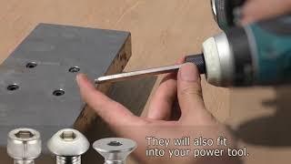"Introducing the ""Socket Screw Extractor"" (DBZ-62~65)"