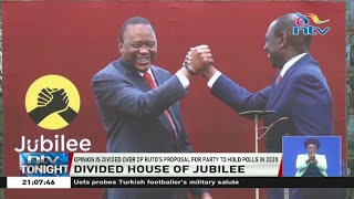 Divided opinion over DP Ruto's proposal to hold Jubilee party polls