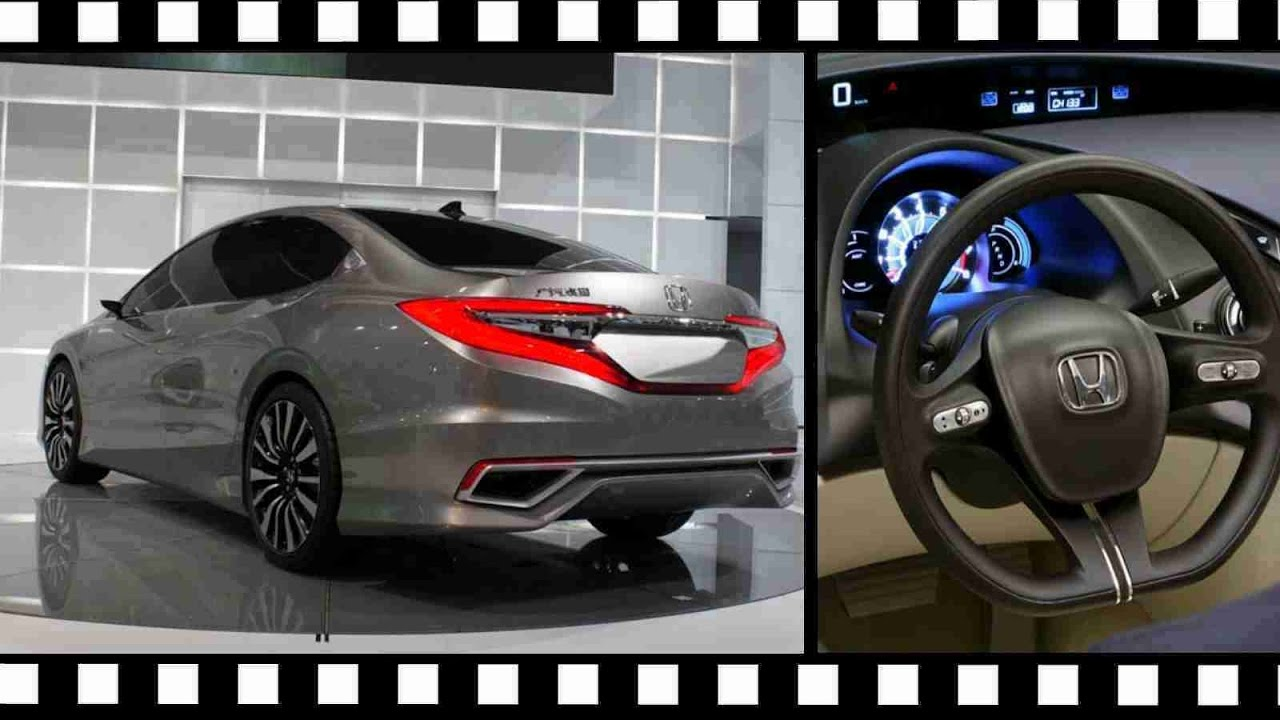 2018 Honda Accord Redesign Interior & Exterior - YouTube