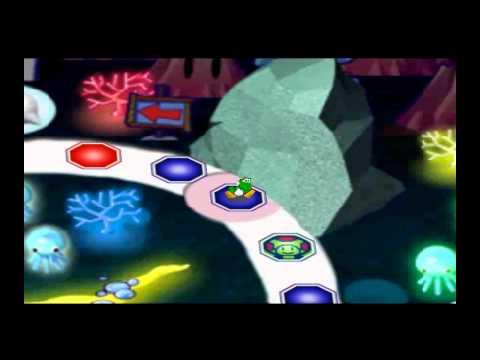 Mario Party 3 - Deep Bloober Sea - Complete 25 turn Board Game