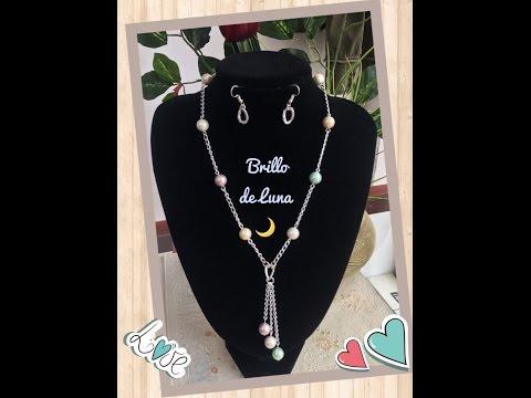 ✬//collar-con-perlas-nacaradas//✬facil-&-elegante✬