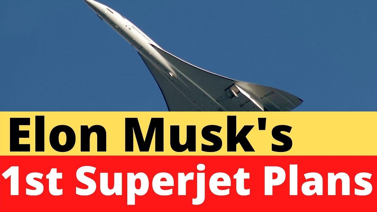 Elon Musk's Ambitious Plan To Create an Electric Tesla Jet