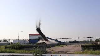 Wyburzenie komina Strzelce Opolskie - ECO Relacje