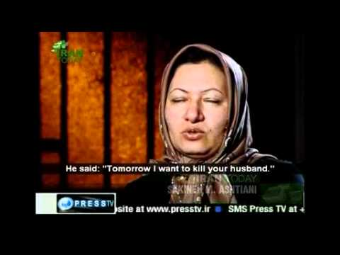 Graphic/ Iran TV depicts  Sakineh Mohammadi Ashtiani murder case - 11 Dec. 2010