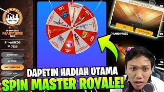 HOKI 2 SKIN PERMANEN! SPIN MASTER ROYALE BANYAK HADIAH! - Garena Free Fire