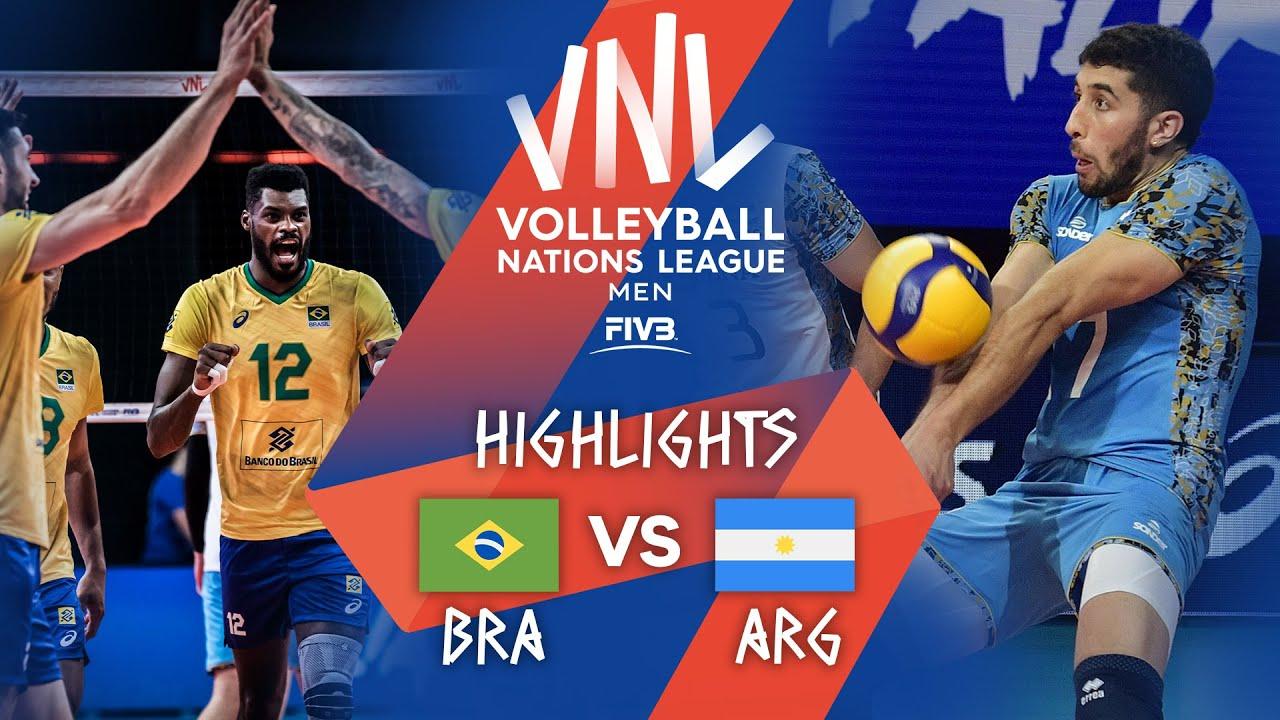 Download BRA vs. ARG - Highlights Week 1 | Men's VNL 2021