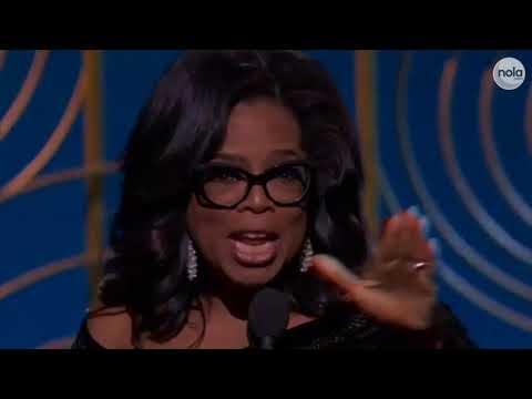 Oprah for president? Winfrey's Golden Globes speech has social media buzzing