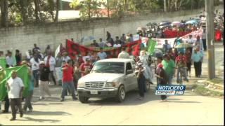 Protestan en Honduras por el alto costo de la vida