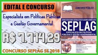 Apostila Especialista em Políticas Públicas e Gestão Governamental - Concurso SEPLAG SE 2018