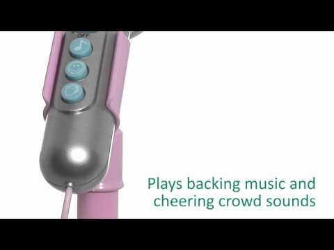 Early Learning Centre - Sing Along Star Microphone Red and Pink