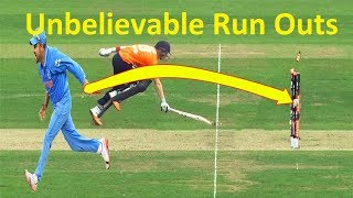 Top 5 Fantastic Run Outs in Cricket History_Unbelievable Run Outs