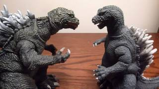 NECA Godzilla 2001 (GMK) Figure Review