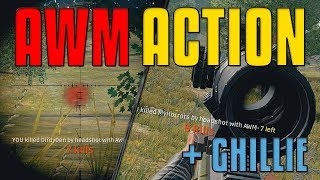 AWM Action 1st Person Solo | PUBG