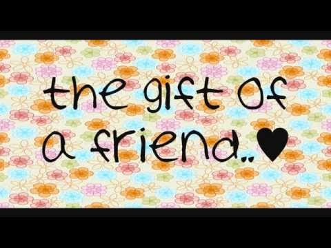 Demi Lovato- Gift of a Friend (With Lyrics)