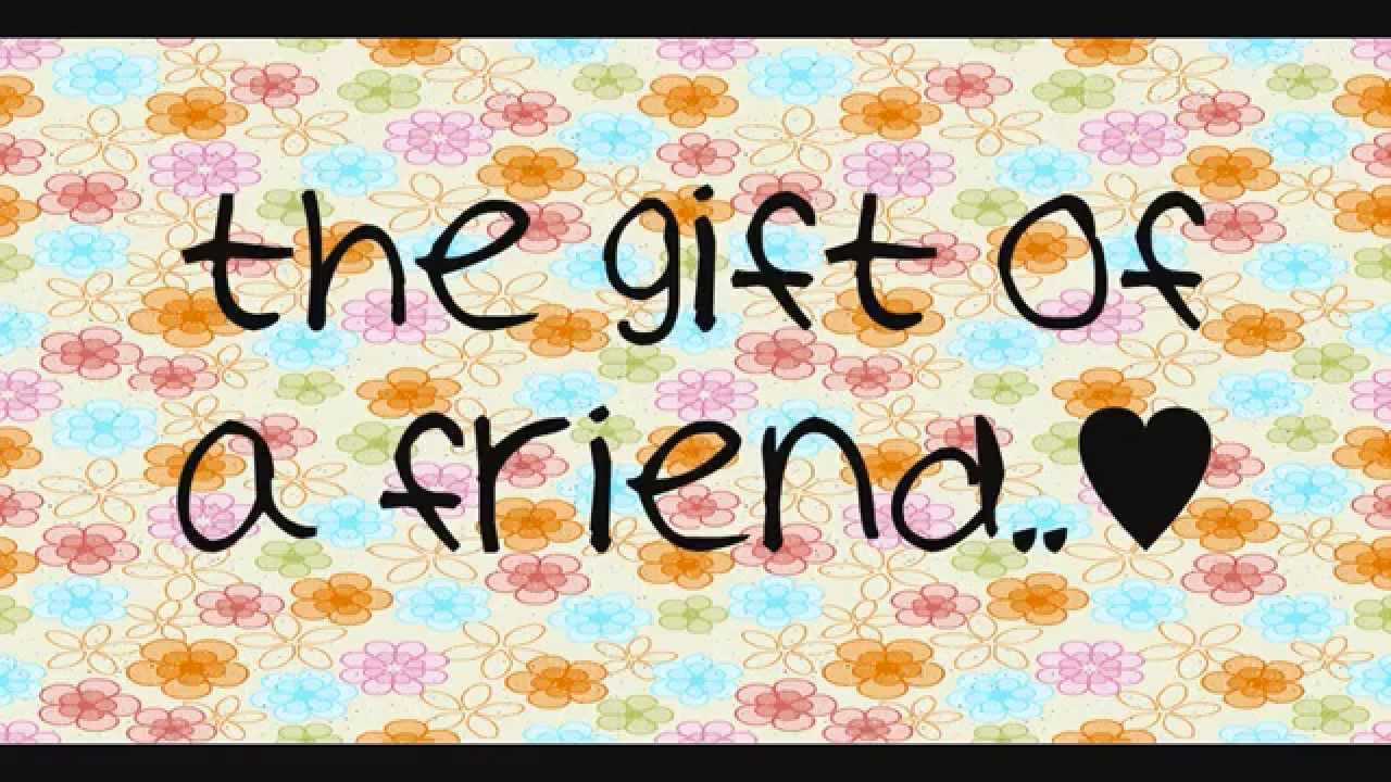 Demi Lovato- Gift of a Friend (With Lyrics) - YouTube