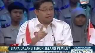 Martin Manurung dalam Forum Indonesia Siapa Dalang Teror Jelang Pemilu Part 4