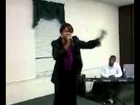 Bishop Sharon at KEM Worship Center GA. Part 2