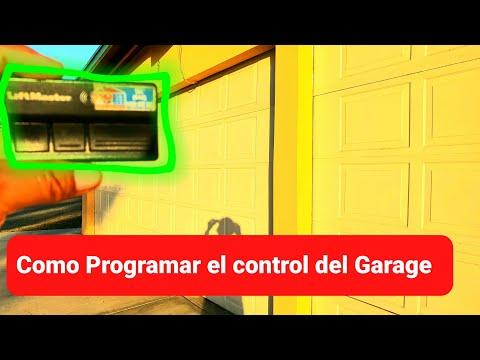 Programar puerta garaje - mando garaje universal multifrecuencia