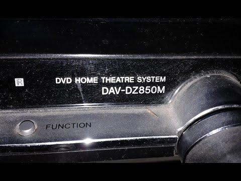 Sony DAV-DZ850M + SONY Ss-ts75.Музыкальный центр, домашний кинотеатр 2010.DVD HOME THEATRE SYSTEM.